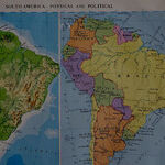 The Schoolboy's Old, Red English Atlas: Part I