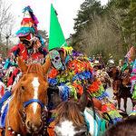 Celebrate Mardi Gras in Lafayette and Eunice, Louisiana