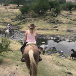Riding the Range Near Mexico's Teotihuacan Pyramids