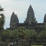 In the Footsteps of First Ladies at Angkor Wat
