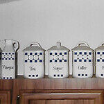 Vintage Canister Set Was Made in Germany