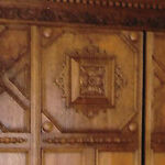 Armoire Reflects Two Eras