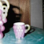 Porcelain Grapes Are Lustrous