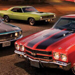 American Muscle Cars and Other Auto Reads