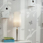 Birdhouse Wallpaper in Nursery