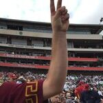 Tommy Trojan Goes for the Gold