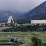 A Fog Lifts at the Air Force Academy