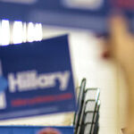 Women Leave Clinton
