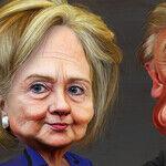 Media Focus on Trump; Voters Focus on Clinton