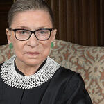 The Notorious RBG as a Little Girl