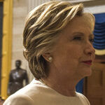 Hillary Making Medea Rounds