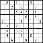 Janric Classic Sudoku for Apr 29, 2017
