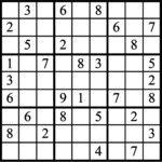 Janric Classic Sudoku for Aug 20, 2017