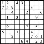 Janric Classic Sudoku for Sep 20, 2017