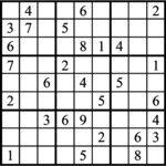 Janric Classic Sudoku for Jan 20, 2018