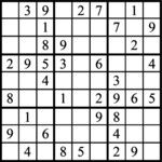 Janric Classic Sudoku for Sep 20, 2018