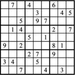 Janric Classic Sudoku for Oct 20, 2018