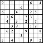 Janric Classic Sudoku for Mar 20, 2019