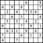 Janric Classic Sudoku for Jun 24, 2019