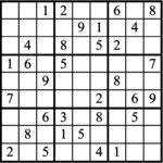 Janric Classic Sudoku for Aug 21, 2019