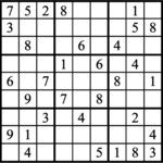 Janric Classic Sudoku for Oct 15, 2019