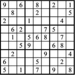 Janric Classic Sudoku for Feb 20, 2020
