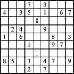 Janric Classic Sudoku for Apr 04, 2020