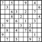 Janric Classic Sudoku for Sep 29, 2020