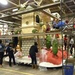 Decorate a Float for the Rose Bowl Parade