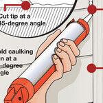Simple, Effective Method to Caulk Windows
