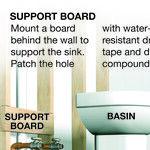 Install a Bathroom Pedestal Sink Yourself