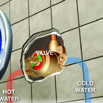 Replace a Shower Mixing Valve With a New One