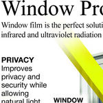 Use Permanent Window Film to Block Heat