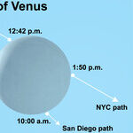 Seeing the Occultation of Venus