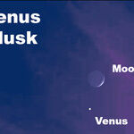 Venus and the Moon Return