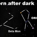 Spotting the Celestial Unicorn