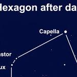 The Brilliant Stars of the Winter Hexagon
