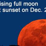 Big Moon A-Risin'