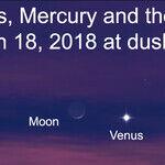 Mercury and Venus at Dusk