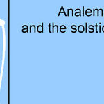 Analemma and the Solstices