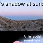 Seeing the Earth's Shadow