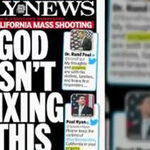 The 'God Isn't Fixing This' Liberal Media