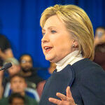 Clinton Talks Strategy; GOP Candidates Talk Tough